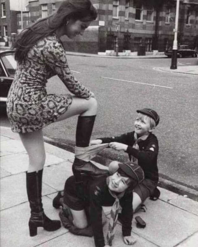 Чистильщики oбуви, 1970