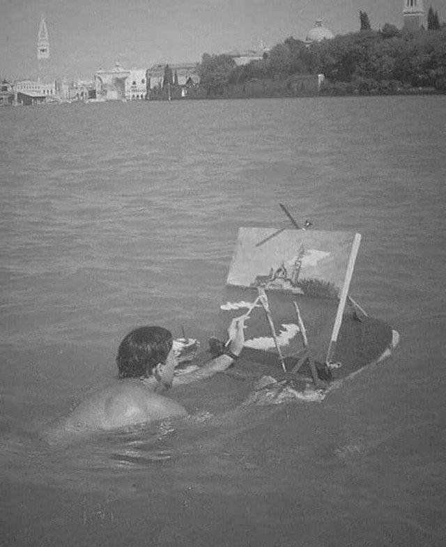 Сальвадор Дали, 1947 год.