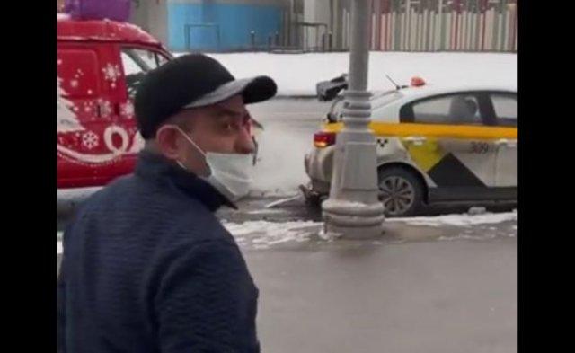 Очень неудачно интервью с таксистом