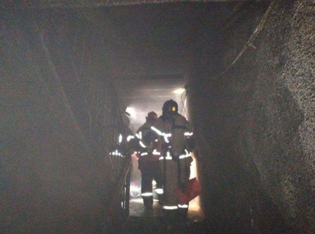 Пожар в Екатеринбурге
