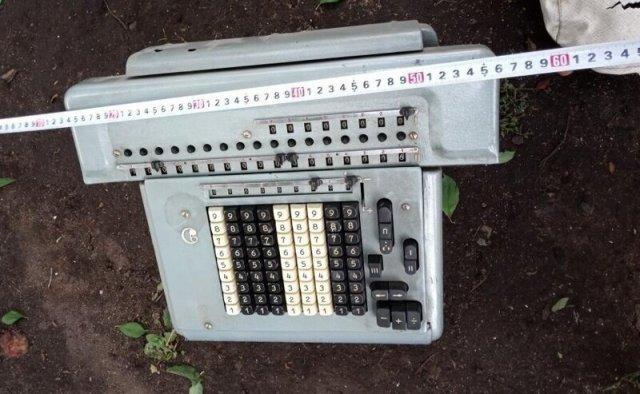Счетная машинка ссср