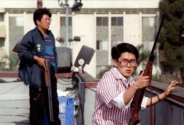 Представители корейской общины Лос-Анджелеса