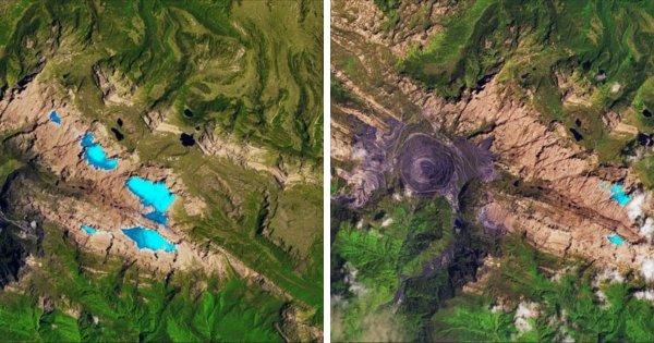 Фотографии со спутников от НАСА: какие изменения происходят на поверхности Земли