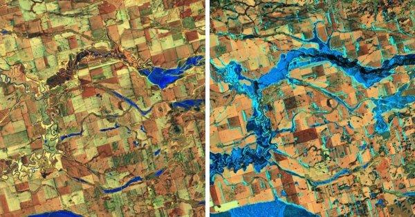 Наводнение реки Джеймс в Южной Дакоте