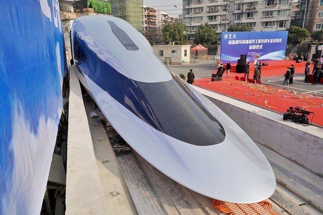 Сверхскоростной поезд в Китае