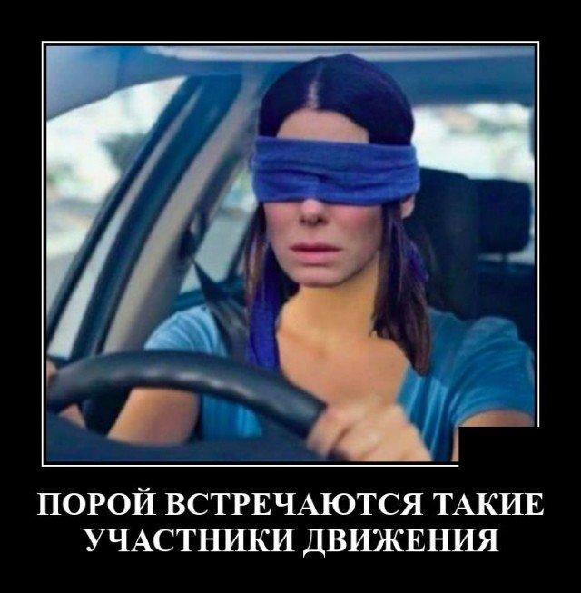 Демотиватор про участников дорожного движения