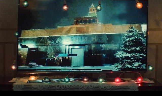 Странный новогодний ролик, где поднимается вопрос захоронения Владимира Ленина