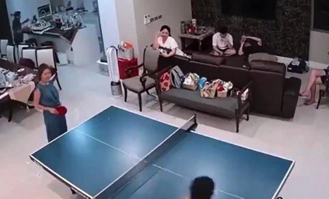 Когда настольный теннис становится очень опасной игрой