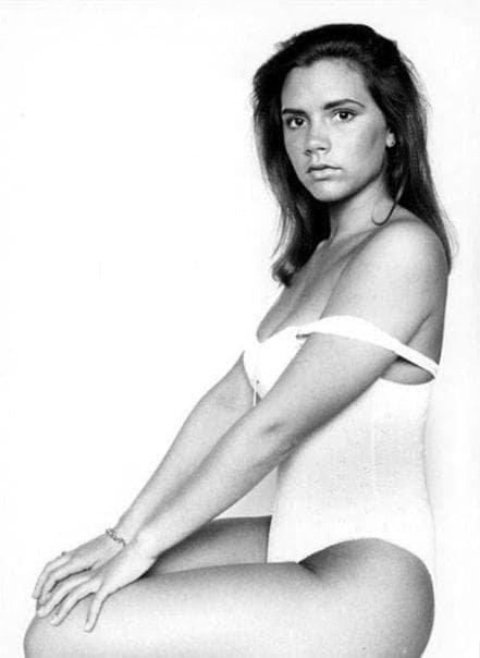 Виктория Бекхэм, 1992 год.