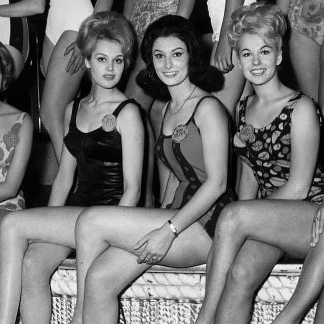 Мисс Финляндия, Мисс Франция и Мисс Германия, 1963 г.