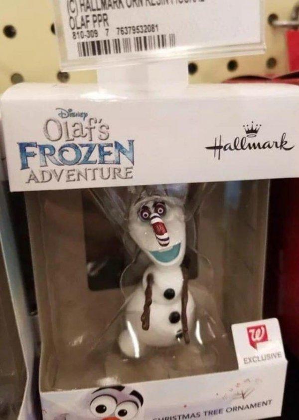 Олаф, что с тобой стало?