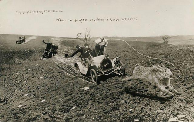 """Надпись на фото: """"Когда мы гонимся за чем-то в Колорадо, мы это получаем"""""""