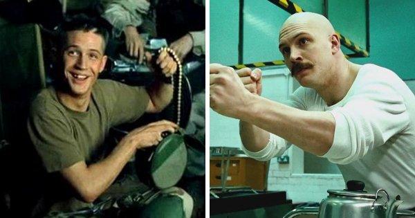 Том Харди появлялся в фильме «Чёрный ястреб» (2001)