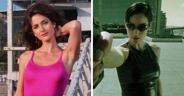 Керри-Энн Мосс появлялась в сериале «Спасатели Малибу»