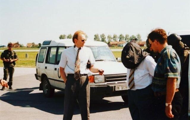 Военнослужащие польского спецназа GROM во время задержания серба Славко Докмановича