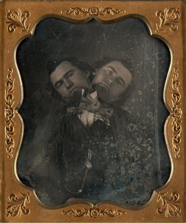 «Двуглавый человек», неизвестный автор, ~1855 год