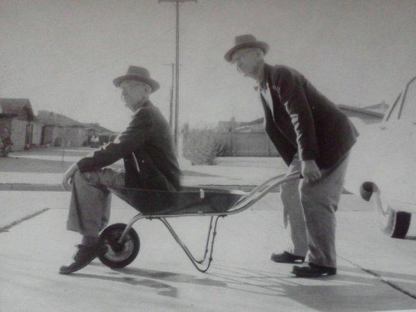 «Мой прадедушка использовал фотошоп ещё до фотошопа», 1950-е годы