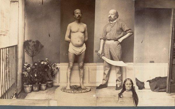 «Сцена убийства и обезглавливания», неизвестный автор, 1870 год