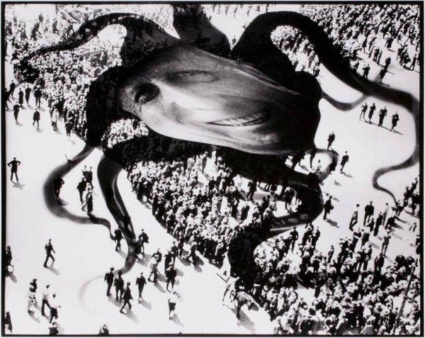 «Херст над людьми», Барбара Морган, 1939 год