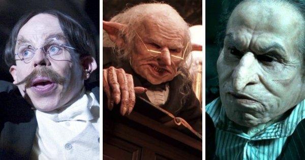 Уорик Дэвис — серия фильмов о Гарри Поттере (2001-2011)