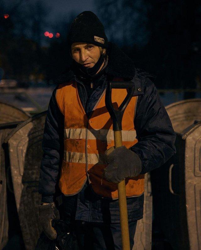 Дворник-инвалид Юрий из Уфы