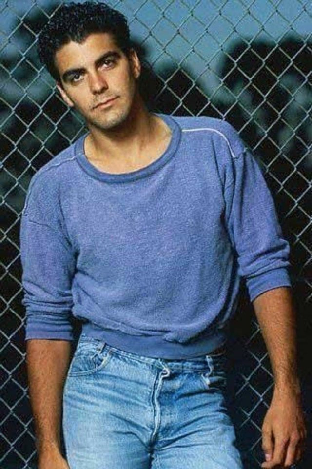 Молодой Джордж Клуни, 1987