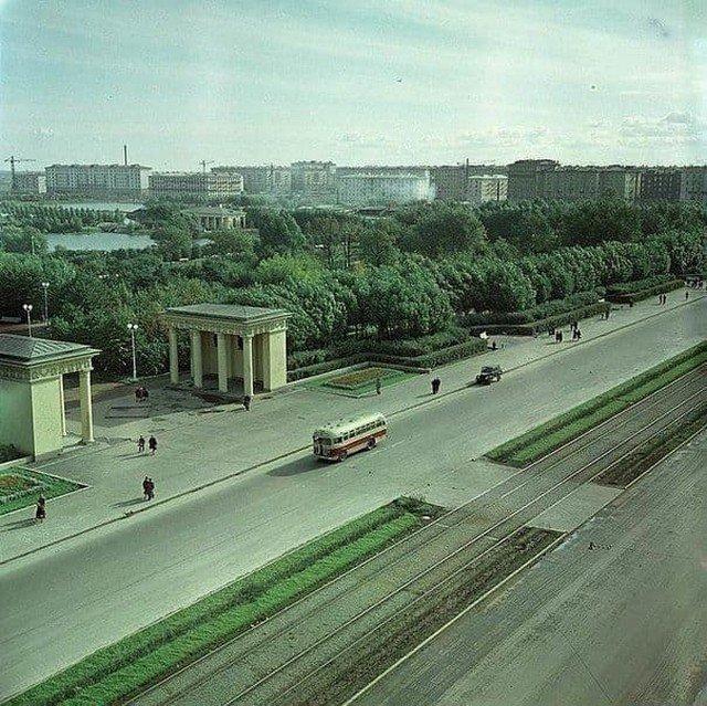 Московский проспект. Парк Победы. Санкт-Петербург, 1958 г.