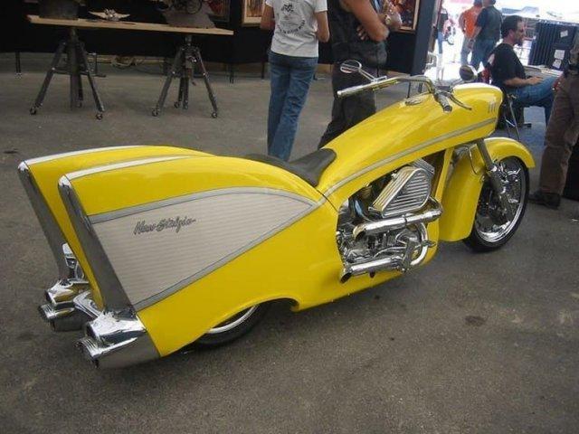 Мотоцикл Шеви, 1957