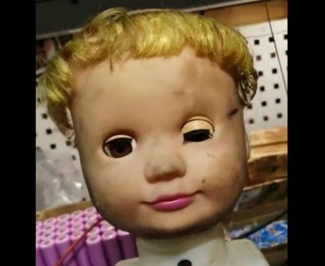 Страшная кукла и известный монолог