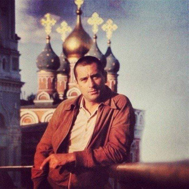 Молодой Роберт Де Ниро в Москве, 1980-ые