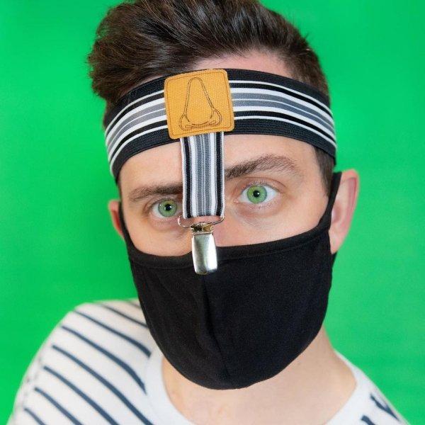 Подтяжки, благодаря которым маска никогда не сползёт с носа