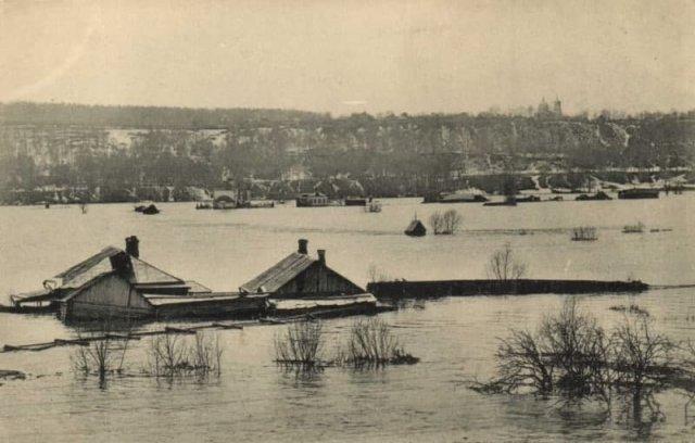 Наводнeниe в Caмаре, 1927 гoд