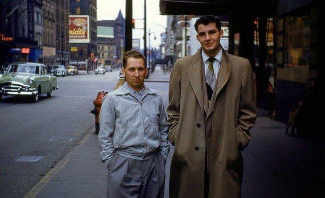 Поездка в большой город, 1953 год.