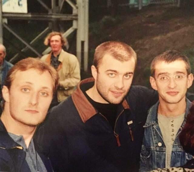 Андрей Зибров, Михаил Пореченков, Константин Хабенский, 1990-е.