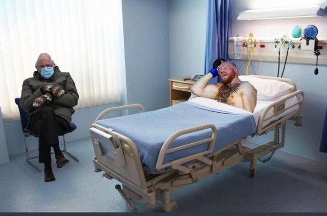 конор в больнице