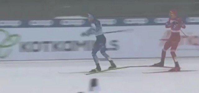 Сборная России по лыжным гонкам лишилась бронзы из-за поведения Александра Большунова