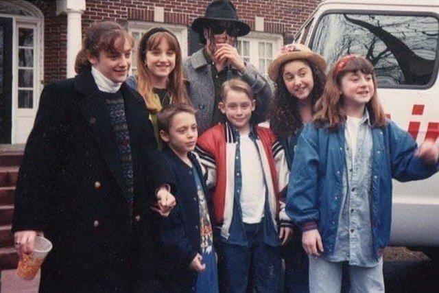 Один дома: Маколей Калкин с Майклом Джексоном
