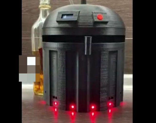 Необычное приспособление для любителей крепких напитков