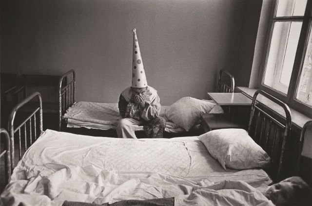 Новый год в психиатрической больнице им. Кащенко. Москва, 1988 год.