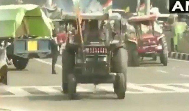 Фермеры в Дели
