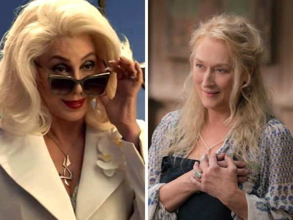 Шер и Мерил Стрип в «Mamma Mia! 2»