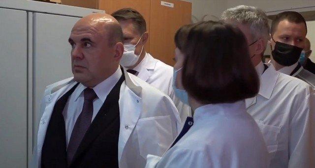 """Михаил Мишустин ужаснулся больнице в Карелии: """"Обшарпанные, прости господи"""""""