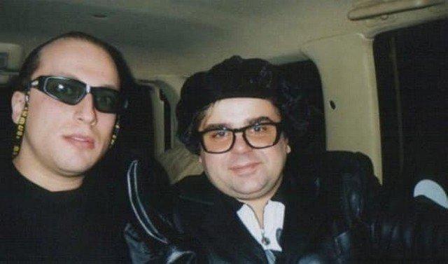 Молодой Дмитрий Нагиев и Сергей Рост, 1998