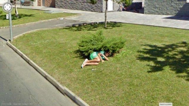 Странные ситуации, которые можно найти на Google Maps