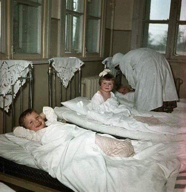 Тихий час, СССР, 1950 год.