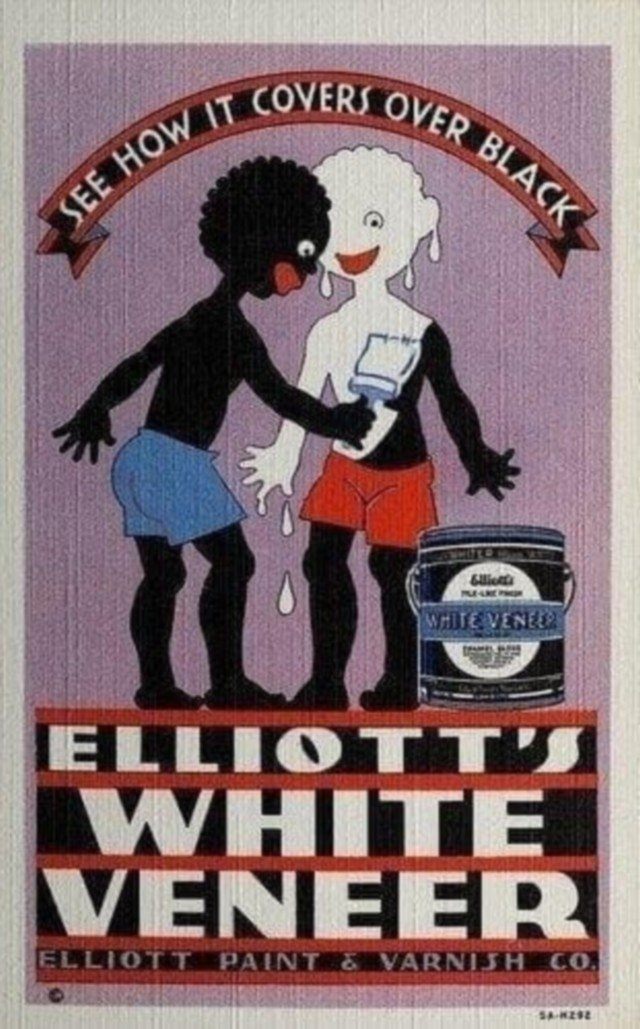 Реклама краски, США, 1935 год