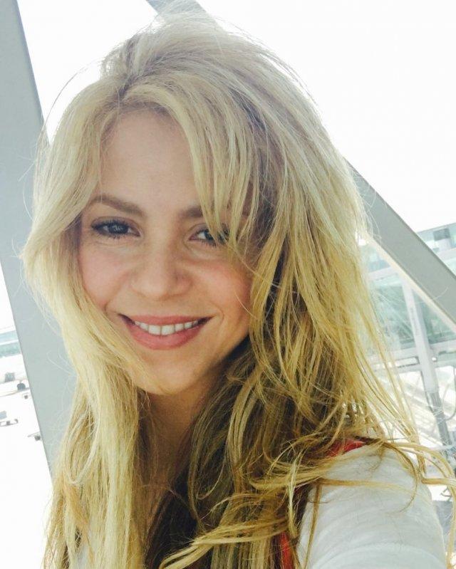 Шакира лицо крупно