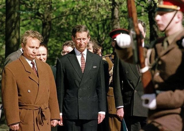 Визит принца Чарльза в Санкт-Петербург.