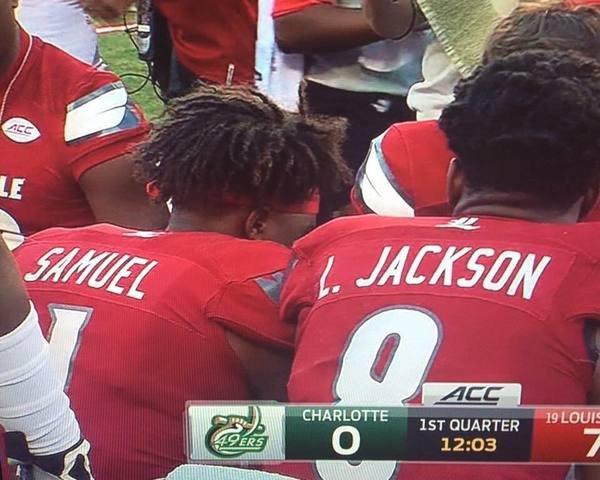 Фамилии двух игроков превращаются в имя и фамилию актёра Сэмюэла Л. Джексона
