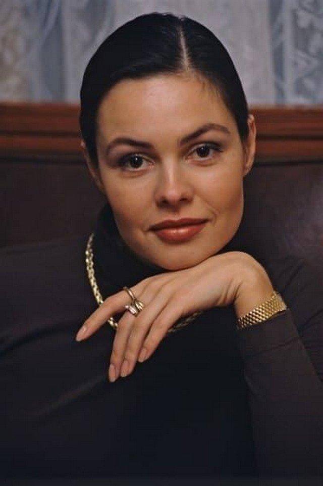 Ведущая канала ОРТ Екатерина Андреева, 1998 год.